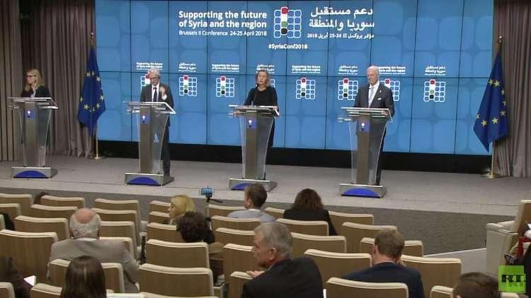 مؤتمر مانحي سوريا يجمع 4.4 مليار دولار لمساعدة البلاد وأوروبا تخصص 3 مليارات للاجئين