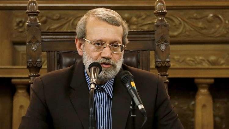 لاريجاني: تهديدات ترامب لن تؤثر على نهج الشعب الإيراني
