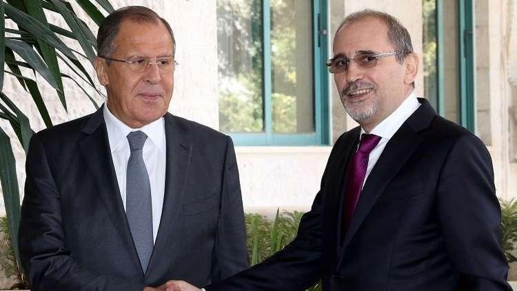لافروف يلتقي نظيره الأردني لبحث الوضع في جنوب سوريا