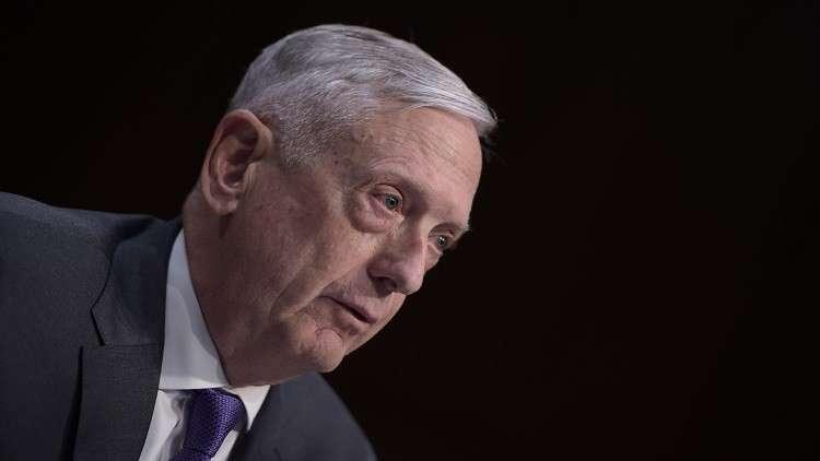 ماتيس: واشنطن ستوسع الحرب على داعش في سوريا بمساعدة حكومات إقليمية