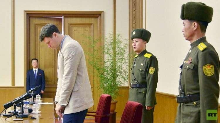والدا طالب أمريكي يتهمان بيونغ يانغ بقتل ابنهما