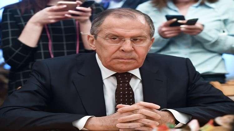لافروف: الضربة الغربية لسوريا عرقلت التسوية