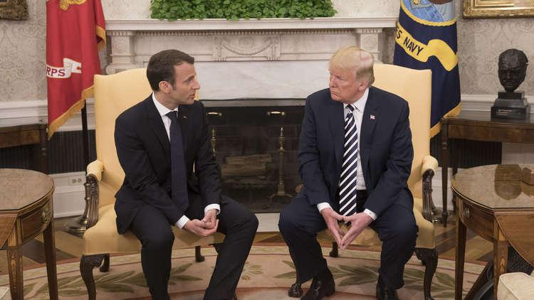 ترامب أهان ماكرون.. فماذا عن عناق الأسد لبوتين!