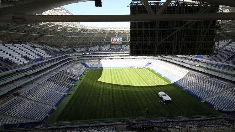 ملعب سمارا جاهز لاستضافة فعاليات كأس العالم