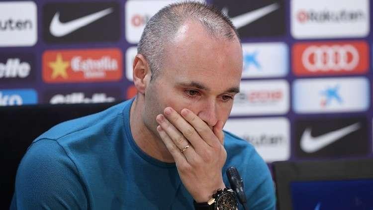 رسميا.. إنييستا يعلن رحيله عن برشلونة