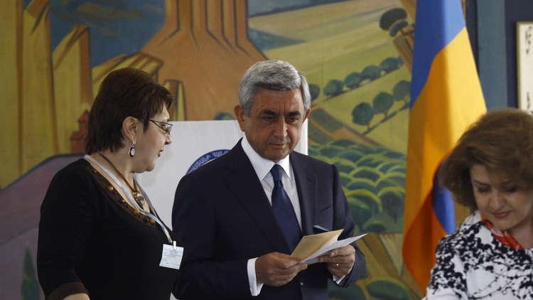 الحزب الحاكم في أرمينيا يتخلى عن تقديم مرشح لرئاسة الوزراء
