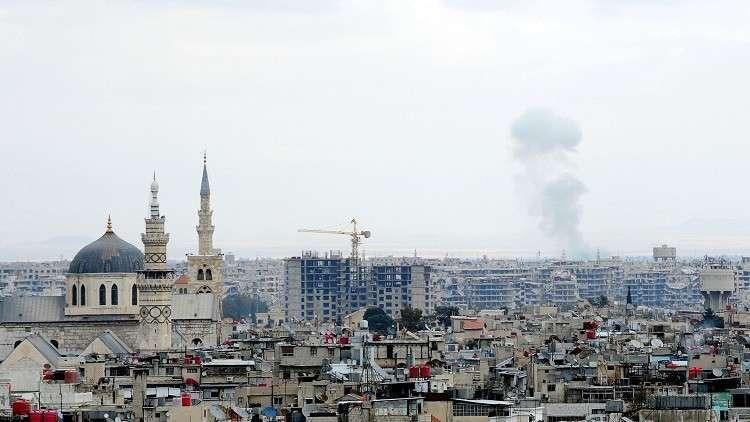 قتيلان وجرحى بقصف مسلحين أحياء سكنية في دمشق