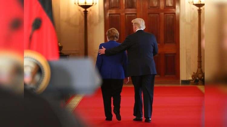 ميركل تدعو ترامب لزيارة موطن أسلافه!