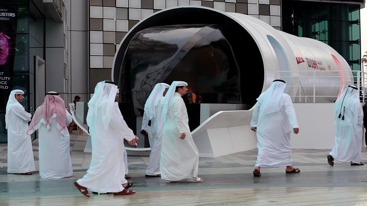 أبو ظبي تشهد إطلاق أول هايبرلوب تجاري في العالم