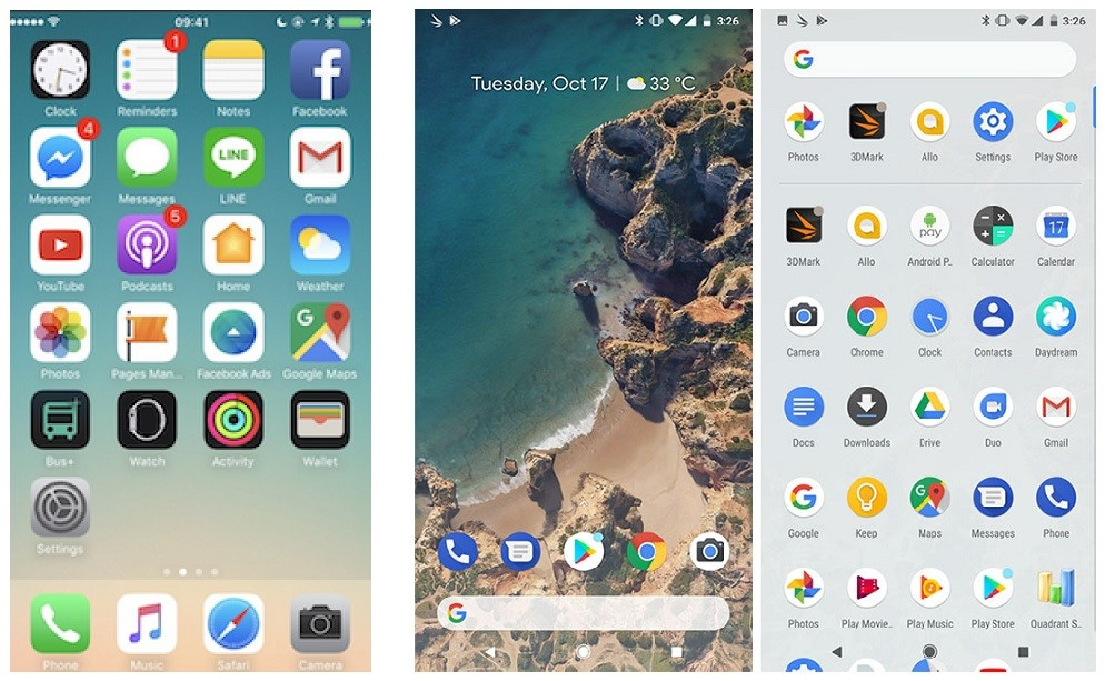 Android أو iOS