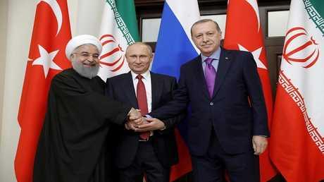 روحاني إلى تركيا للمشاركة في القمة الثلاثية مع بوتين وأردوغان