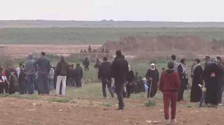 مسيرات يوم الأرض متواصلة إلى ذكرى النكبة