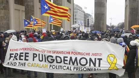 مظاهرات في برلين تدعو للإفراج عن بودتشيمون