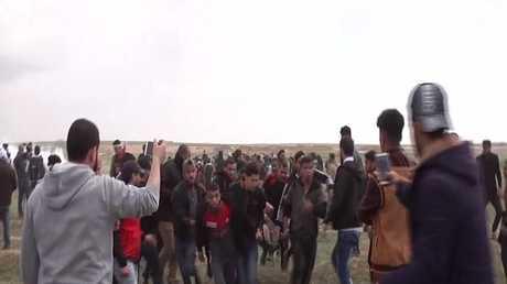 18 قتيلا حصيلة مواجهات غزة في يوم الأرض