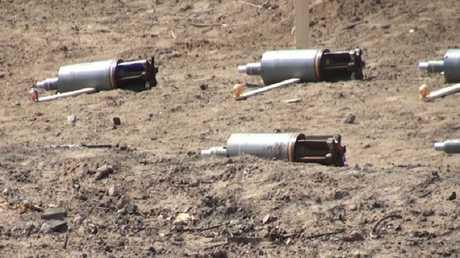 قنابل موجهة ذاتيا