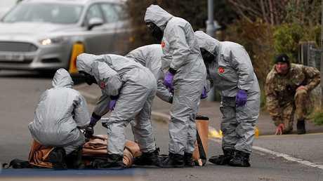 خبراء بريطانيون في موقع حادثة سيرغي سكريبال
