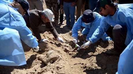 العثور على مقابر جماعية في العراق