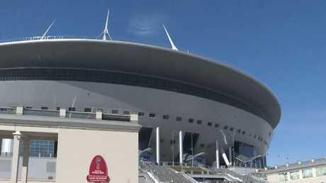 جاهزية ملعب سان بطرسبورغ لمونديال 2018