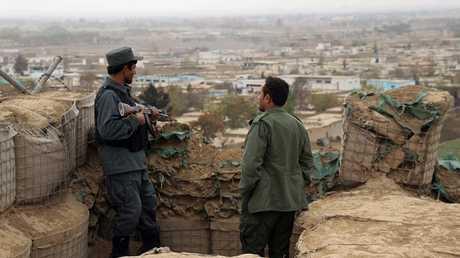 القوات الأفغانية في ولاية قندوزشمالي أفغانستان