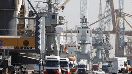 ميناء أم قصر العراقي (صورة أرشيفية)