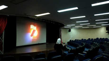 أحد دور السينما في السعودية