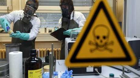 مختبرات التعامل مع الأسلحة البيولوجية - أرشيف