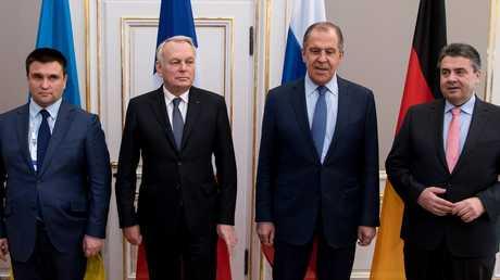 لقاء وزراء خارجية دول
