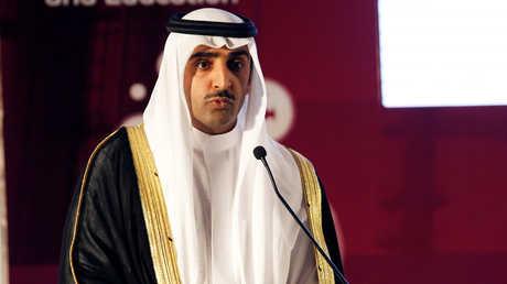 وزير النفط البحريني محمد بن خليفة آل خليفة