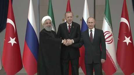 قمة روسية تركية إيرانية في أنقرة
