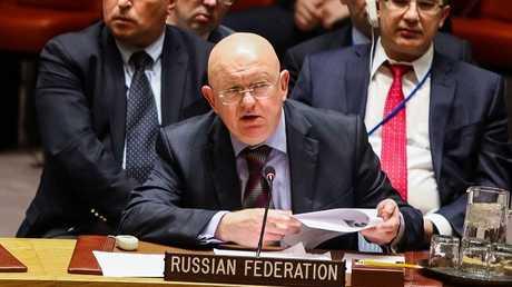 المندوب الدائم لروسيا لدى الأمم المتحدة فاسيلي نيبينزيا