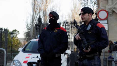 دورية للشرطة في كتالونيا