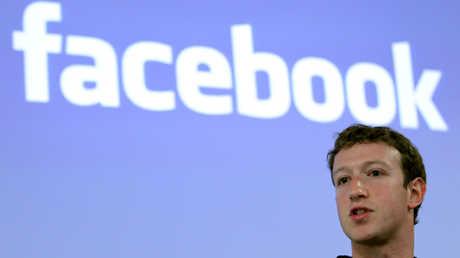 """المؤسس والرئيس التنفيذي لشركة """"فيسبوك""""، مارك زوكربيرغ"""
