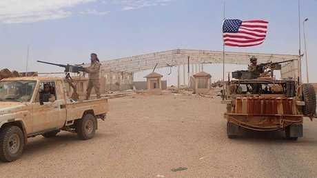 أرشيف - قاعدة التنف الأمريكية جنوب سوريا