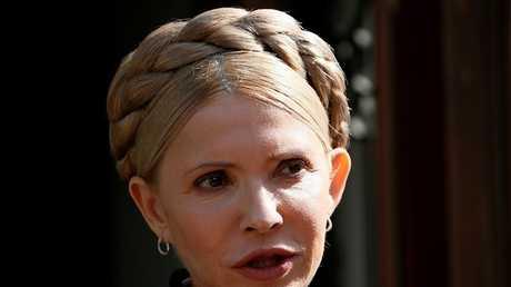 زعيمة المعارضة الأوكرانية يوليا تيموشينكو