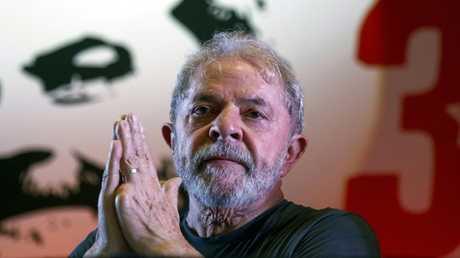 الرئيس البرازيلي السابق لويس ايناسيو لولا دا سيلفا في ساو باولو