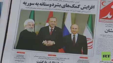 ترحيب إيراني بنتائج قمة أنقرة