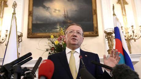 السفير الروسي لدى بريطانيا، ألكسندر ياكوفينكو
