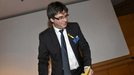 الرئيس السابق لحكومة إقليم كتالونيا، كارليس بوتشديمون