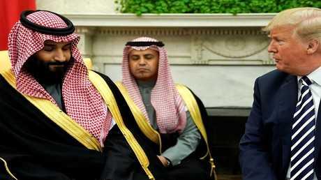 الرئيس الأمريكي وولي العهد السعودي