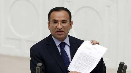 نائب رئيس الوزراء التركي بكر بوزداغ، أرشيف