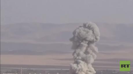 غارات للطيران الحربي السوري (أرشيف)
