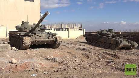 وحدات من الجيش السوري تدخل إلى مزارع دوما وجيش الإسلام يقصف أحياء في دمشق