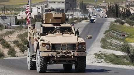 القوات الأمريكية في شمال سوريا