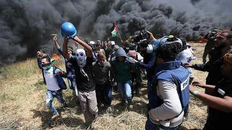 إصابة 8 فلسطيين برصاص الجيش الإسرائيلي شرق مدينة غزة ومخيم البريج