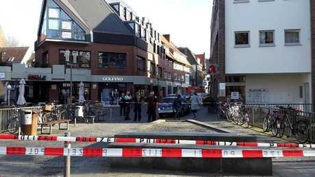 مكان عملية الدهس في مدينة مونستر الألمانية