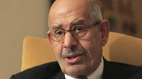 المدير السابق للوكالة الدولية للطاقة الذرية الدكتور محمد البرادعي