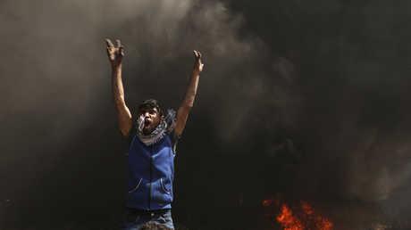 من مسيرات العودة في غزة