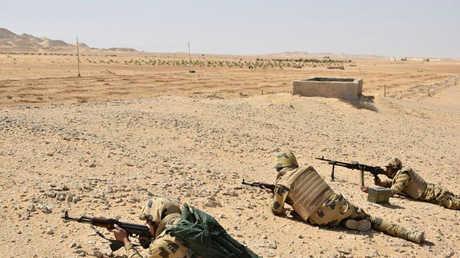 جنود من الجيش المصري في سيناء