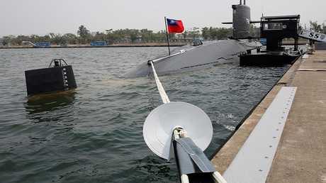 غواصة تابعة للأسطول التايواني