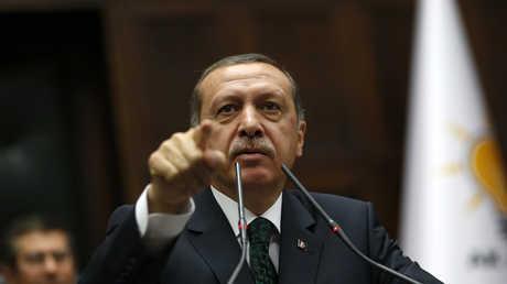 الرئيس التركي رجب طيب أٍدوغان